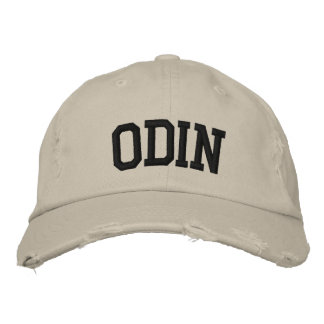 Odin Embroidered Hat Embroidered Hats