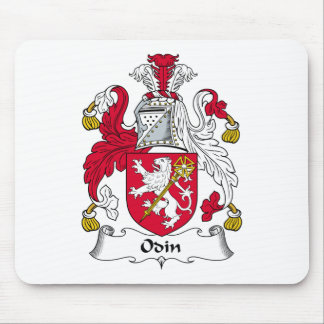 Odin Family Crest Mouse Mat