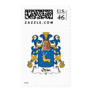 Odin Family Crest Stamp