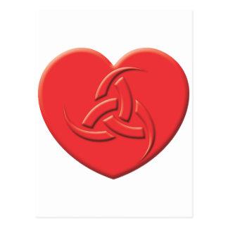 Odin Heart Postcard