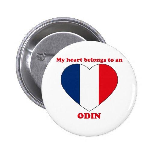 Odin Pin Redondo De 2 Pulgadas