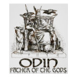 Odin Posters