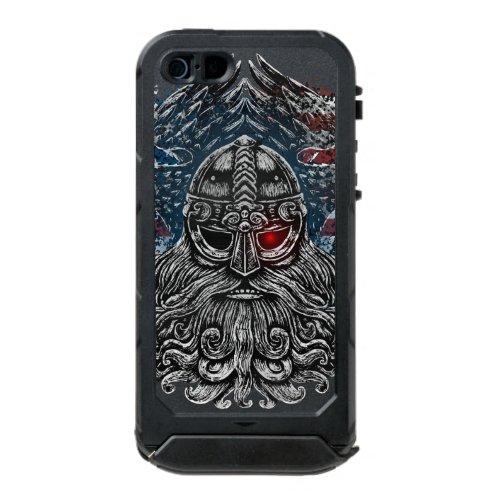Odin ravens and swords Viking Mythology USA flag Phone Case
