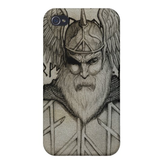 Odin the All-Father Cases For iPhone 4