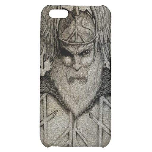 Odin the All-Father iPhone 5C Cases