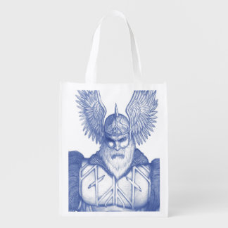 Odin the Allfather Grocery Bag