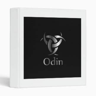 Odin- The graphic is a symbol of the horns of Odin 3 Ring Binder