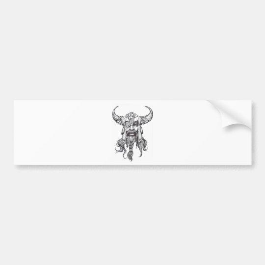 Odin the Great Norse God Bumper Sticker