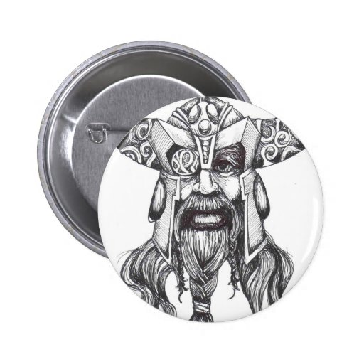 Odin the Great Norse God Pin