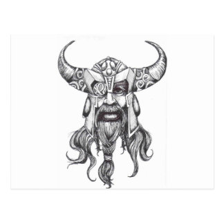 Odin the Great Norse God Postcard