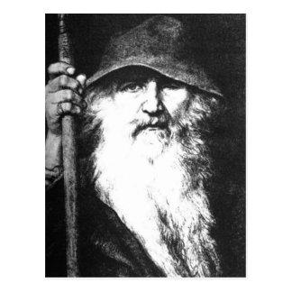 Odin The Wanderer Postcard
