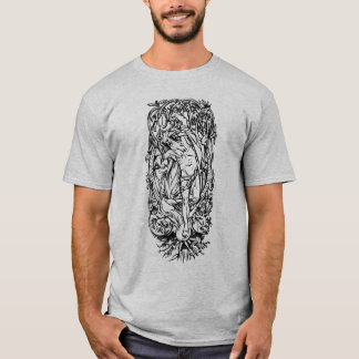 Odin Upon Yggdrasil T-Shirt