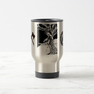 Odin, Viking God Stainless Steel Travel Mug