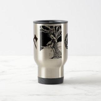 Odin, Viking God Stainless Steel Travel Mug