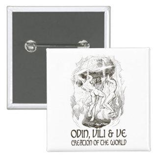 Odin Vili and Ve Pins