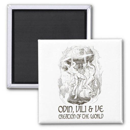 Odin, Vili y VE Iman
