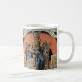 Odin with Huginn and Muninn Mug