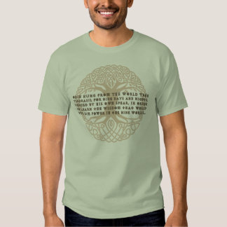 Odin World Tree Shirt