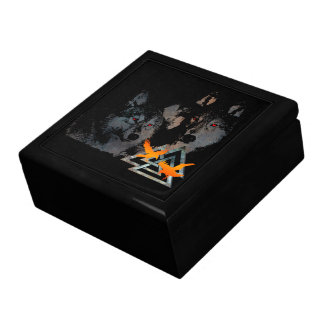 Odins acaricia la caja cajas de joyas