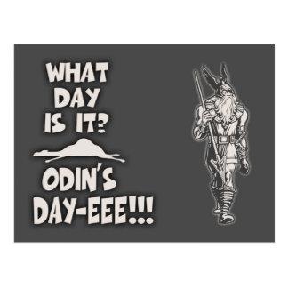 Odin's Day Postcard