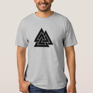 Odin's Mark, the Valknut Tee Shirt