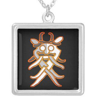 Odin's Mask Necklace