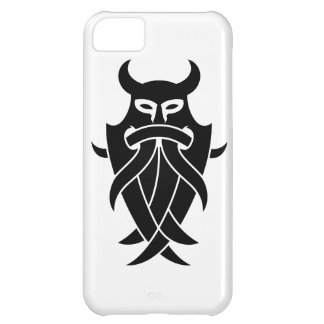 Odin's Mask Tribal (black) iPhone 5C Covers