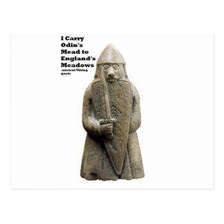 Odin's Prayer (Viking Berserker) Postcard