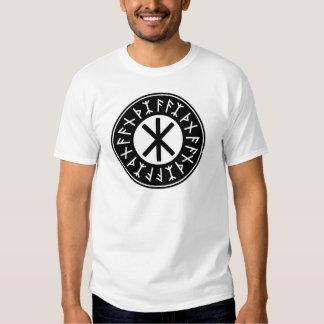 Odin's Protection No.1 (black white) T Shirt