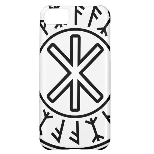 Odin's Protection No.2 (black) iPhone 5C Cases