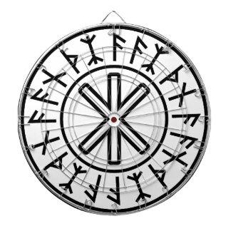 Odin's Protection No.2 (black) Dart Board