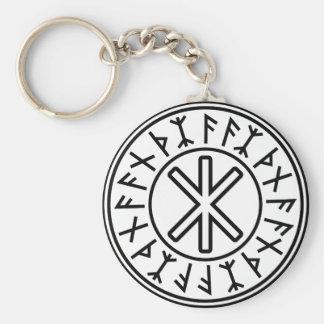 Odin's Protection No.2 (black) Keychain