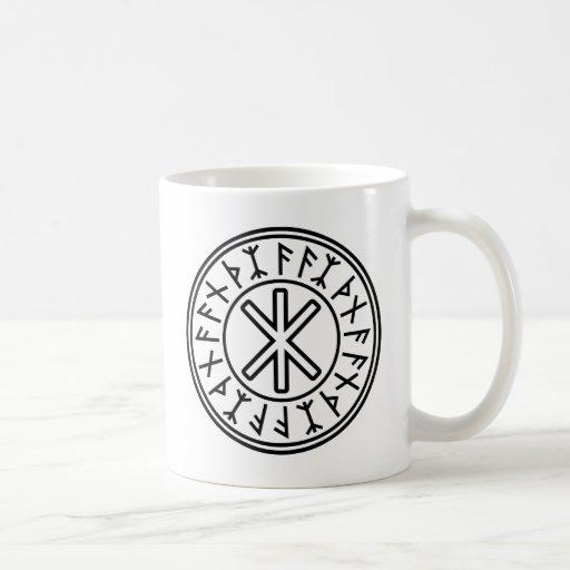 Odin's Protection No.2 (black) Mugs