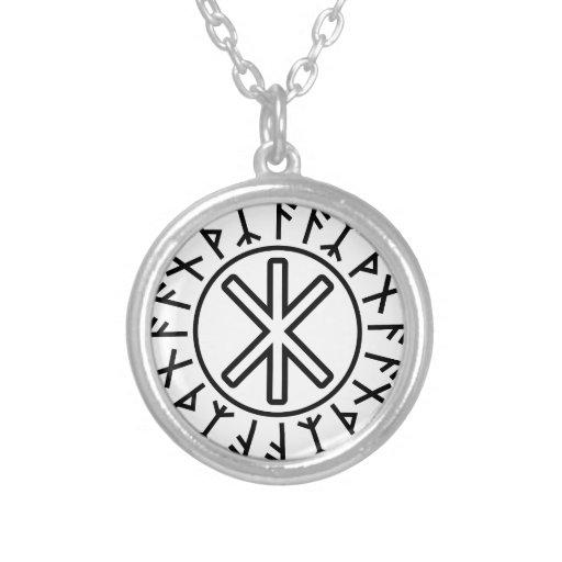 Odin's Protection No.2 (black) Custom Necklace