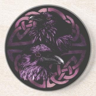 Odins Ravens Drinking Coasters