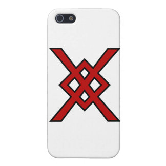 Odin's Spear (red & black) Cases For iPhone 5