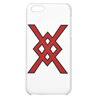 Odin's Spear (red & black) iPhone 5C Covers