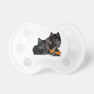 Odin's Wolves Pacifier