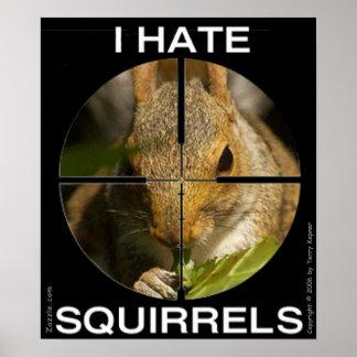 Odio ardillas - en el alcance - poster