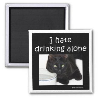 Odio beber solamente iman para frigorífico