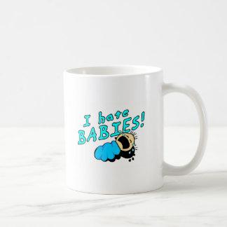 ¡Odio bebés! Tazas