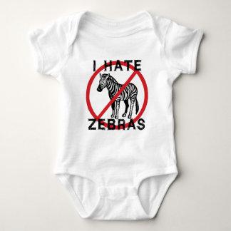 Odio cebras body para bebé