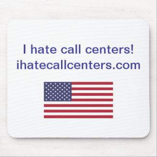 ¡Odio centros de atención telefónicas! Regalos Alfombrillas De Ratones