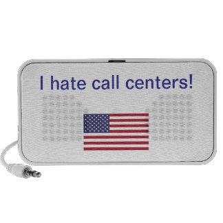 ¡Odio centros de atención telefónicas! Regalos iPhone Altavoces