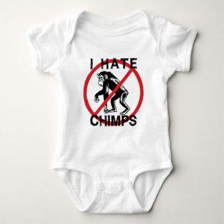 Odio chimpancés body para bebé