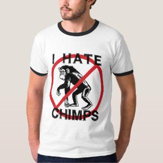 Odio chimpancés playera