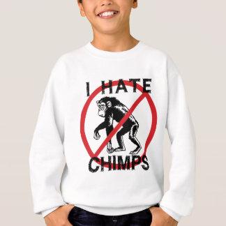 Odio chimpancés sudadera
