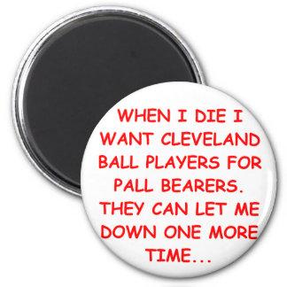 odio Cleveland Imán Redondo 5 Cm