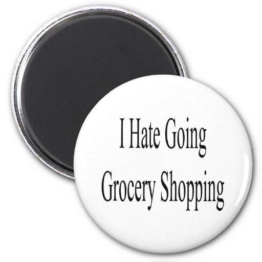 Odio compras que van iman de nevera