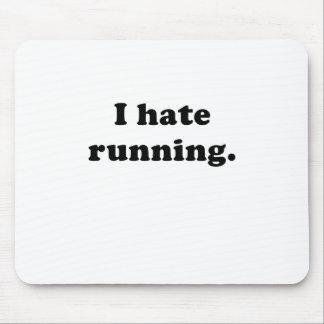 Odio correr alfombrillas de ratones